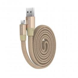 Cablu MicroUSB Devia Ring...